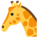Giraffe on Twitter Twemoji 2.3