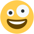 Crazy Face on Twitter Twemoji 2.3