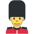 Guard on Twitter Twemoji 2.3