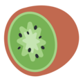 Kiwi Fruit on Twitter Twemoji 2.3