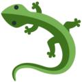 Lizard on Twitter Twemoji 2.3