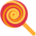 Lollipop on Twitter Twemoji 2.3