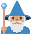 Mage: Medium Skin Tone on Twitter Twemoji 2.3