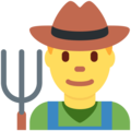 Man Farmer on Twitter Twemoji 2.3