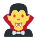 Man Vampire on Twitter Twemoji 2.3