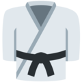 Martial Arts Uniform on Twitter Twemoji 2.3