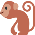 Monkey on Twitter Twemoji 2.3