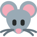Mouse Face on Twitter Twemoji 2.3