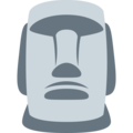 Moai on Twitter Twemoji 2.3