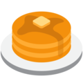 Pancakes on Twitter Twemoji 2.3