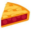 Pie on Twitter Twemoji 2.3