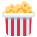 Popcorn on Twitter Twemoji 2.3