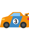 Racing Car on Twitter Twemoji 2.3