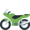 Motorcycle on Twitter Twemoji 2.3