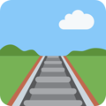 Railway Track on Twitter Twemoji 2.3