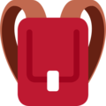 School Backpack on Twitter Twemoji 2.3