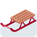Sled on Twitter Twemoji 2.3