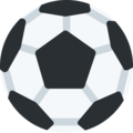 Soccer Ball on Twitter Twemoji 2.3