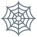 Spider Web on Twitter Twemoji 2.3