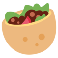 Stuffed Flatbread on Twitter Twemoji 2.3