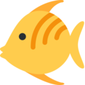 Tropical Fish on Twitter Twemoji 2.3