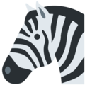 Zebra on Twitter Twemoji 2.3