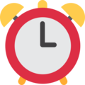 Alarm Clock on Twitter Twemoji 2.4