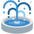 Fountain on Twitter Twemoji 2.4