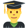 Man Student on Twitter Twemoji 2.4