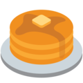 Pancakes on Twitter Twemoji 2.4