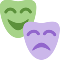 Performing Arts on Twitter Twemoji 2.4