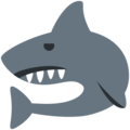 Shark on Twitter Twemoji 2.4