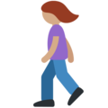 Woman Walking: Medium Skin Tone on Twitter Twemoji 2.4