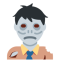 Zombie on Twitter Twemoji 2.4