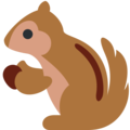 Chipmunk on Twitter Twemoji 2.5