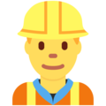 Construction Worker on Twitter Twemoji 2.5