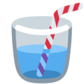 Cup With Straw on Twitter Twemoji 2.5