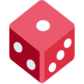 Game Die on Twitter Twemoji 2.5