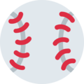 Baseball on Twitter Twemoji 2.6