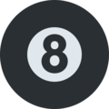 Pool 8 Ball on Twitter Twemoji 2.6