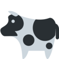 Cow on Twitter Twemoji 2.6