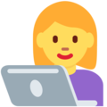 Woman Technologist on Twitter Twemoji 2.6