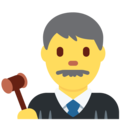 Man Judge on Twitter Twemoji 2.6