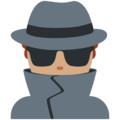 Detective: Medium Skin Tone on Twitter Twemoji 2.6