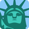 Statue of Liberty on Twitter Twemoji 2.6
