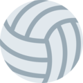 Volleyball on Twitter Twemoji 2.6