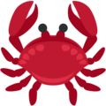 Crab on Twitter Twemoji 2.7