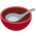 Bowl With Spoon on Twitter Twemoji 11.0