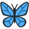 Butterfly on Twitter Twemoji 11.0