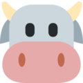 Cow Face on Twitter Twemoji 11.0